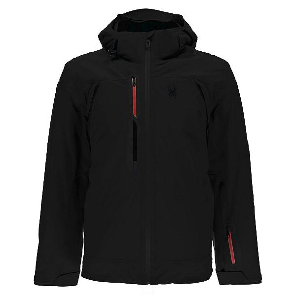 Spyder Alyeska Mens Insulated Ski Jacket, Black, 600