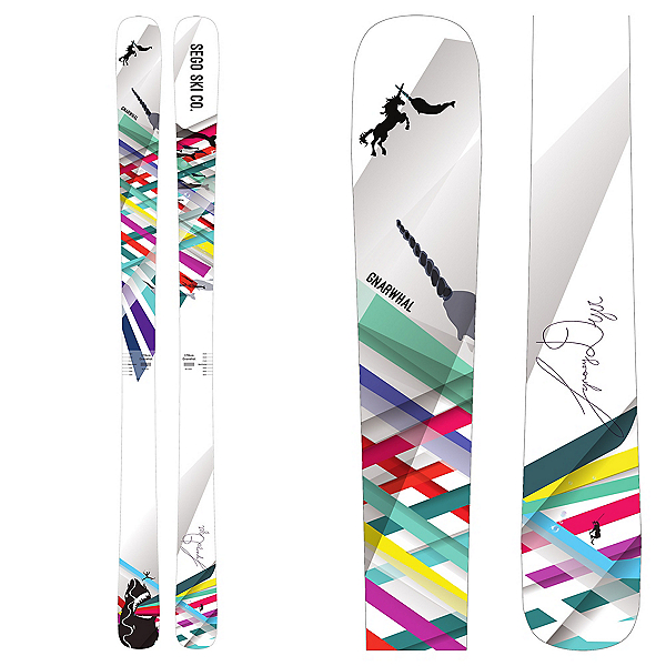 SEGO Skis Gnarwhal Womens Skis 2018, , 600