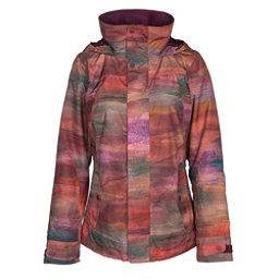 Burton Jet Set Womens Insulated Snowboard Jacket, Sedona, 256