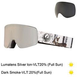 Dragon NFX2 Goggles 2018, Realm-Lumalens Silver Ion + Bonus Lens, 256