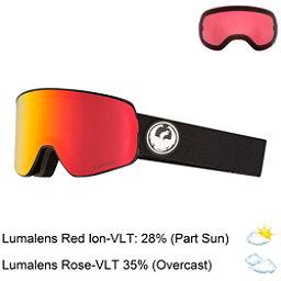 Dragon NFX2 Goggles 2018, Black-Lumalens Red Ion + Bonus Lens, 256