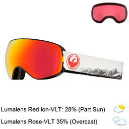 Dragon X2 S Goggles 2018, Realm-Lumalens Red Ion + Bonus Lens, 256