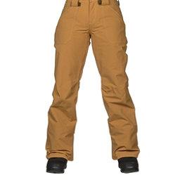 Burton Veazie Womens Snowboard Pants, Harvest Gold, 256