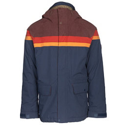 Burton Docket Mens Insulated Snowboard Jacket, Chestnut Cord-Clay-Golden Oak-, 256