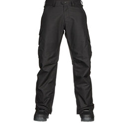 Burton Cargo Tall Mens Snowboard Pants, True Black, 256
