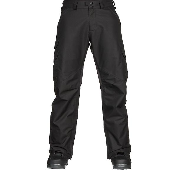 Burton Cargo Tall Mens Snowboard Pants, True Black, 600