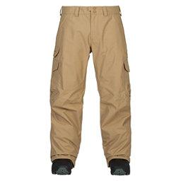 Burton Cargo Tall Mens Snowboard Pants, Kelp, 256
