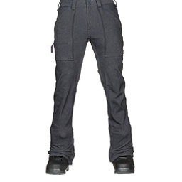 Burton Southside Slim Fit Mens Snowboard Pants, Denim, 256