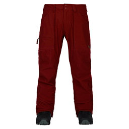 Burton Southside Slim Fit Mens Snowboard Pants, Fired Brick, 256