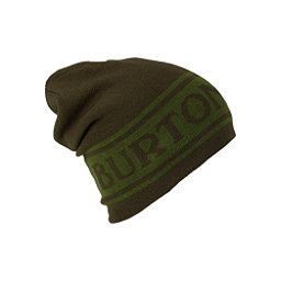 Burton Billboard Slouch Beanie Hat, Rifle Green-Kelp, 256