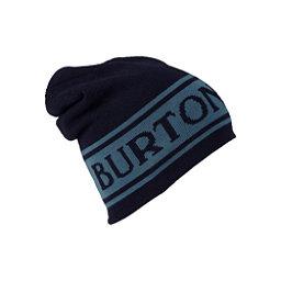 Burton Billboard Slouch Beanie Hat, Mood Indigo-La Sky, 256