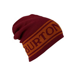 Burton Billboard Slouch Beanie Hat, Fired Brick-Golden Oak, 256