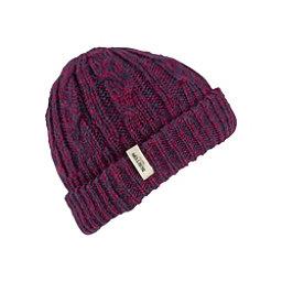Burton Bone Cobra Beanie Womens Hat, Sangria-Mood Indigo, 256