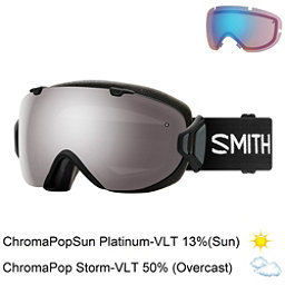 Smith I/OS Womens Goggles 2018, Black-Chromapop Sun Platinum M + Bonus Lens, 256