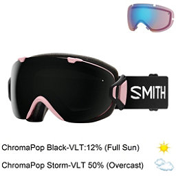 Smith I/OS Womens Goggles, Monaco-Chromapop Sun Black + Bonus Lens, 256