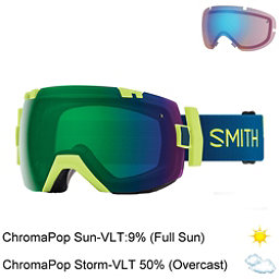 Smith I/OX Goggles 2018, Acid Resin-Chromapop Sun Green + Bonus Lens, 256