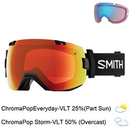 Smith I/OX Goggles 2018, Black-Chromapop Everyday Red M + Bonus Lens, 256