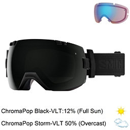 Smith I/OX Goggles 2018, Blackout-Chromapop Sun Black + Bonus Lens, 256