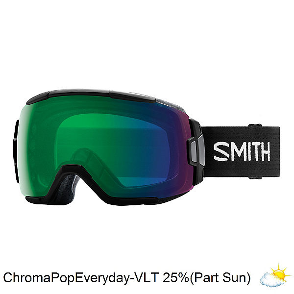 Smith Vice Goggles 2018, Black-Chromapop Everyday Green, 600