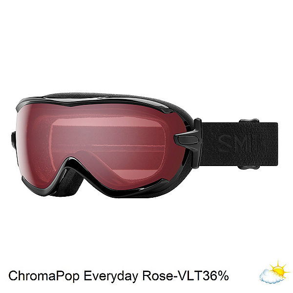 Smith Virtue Womens Goggles, Black Mosaic-Chromapop Everyday Violet, 600
