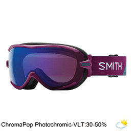 Smith Virtue Womens Goggles 2018, Grape Split-Chromapop Photochr, 256