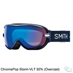 Smith Virtue Womens Goggles 2018, Navy Micro Floral-Chromapop St, 256