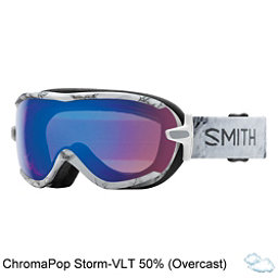 Smith Virtue Womens Goggles 2018, Venus-Chromapop Storm Rose Fla, 256