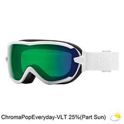 Smith Virtue Womens Goggles, White Mosaic-Chromapop Everyda, 256