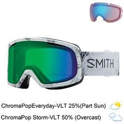 Smith Riot Womens Goggles 2018, Venus-Chromapop Everyday Green + Bonus Lens, 256
