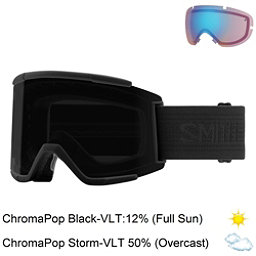 Smith Squad XL Goggles 2018, Blackout-Chromapop Sun Black + Bonus Lens, 256