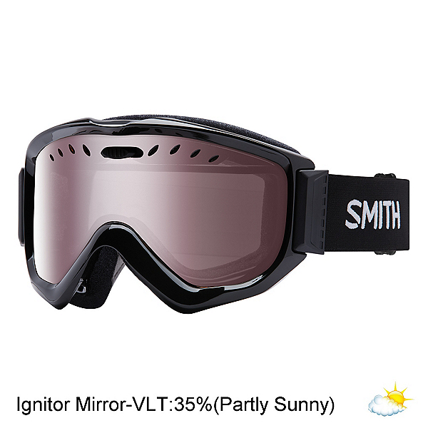 Smith Knowledge OTG Goggles 2020, Black-Ignitor Mirror, 600