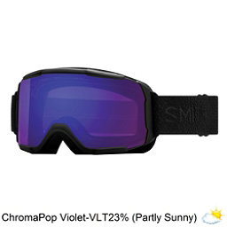 Smith Showcase Womens OTG Goggles 2018, Black Mosaic-Chromapop Everyday Violet, 256