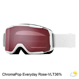 Smith Showcase Womens OTG Goggles 2018, White Mosaic-Chromapop Everyday Rose, 256