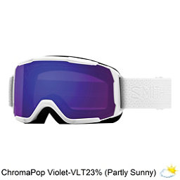 Smith Showcase Womens OTG Goggles 2018, White Mosaic-Chromapop Everyday Violet, 256