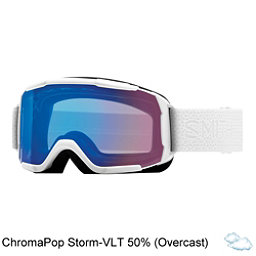 Smith Showcase Womens OTG Goggles 2018, White Mosaic-Chromapop Storm R, 256