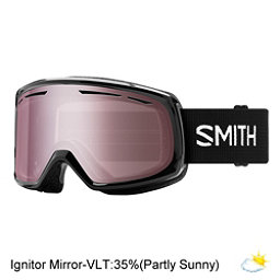 Smith Drift Womens Goggles 2018, Black-Ignitor Mirror, 256
