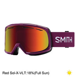Smith Drift Womens Goggles 2018, Grape-Red Sol X Mirror, 256