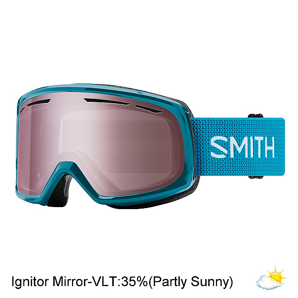 Smith Drift Womens Goggles 2018, Mineral-Ignitor Mirror, 600