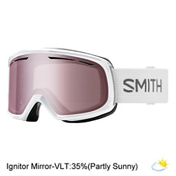 Smith Drift Womens Goggles 2018, White-Ignitor Mirror, 256