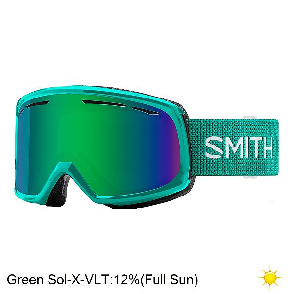 Smith Drift Womens Goggles 2020, Jade-Green Sol X Mirror, 600