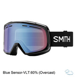 Smith Range Goggles 2018, Black-Blue Sensor Mirror, 256