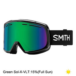 Smith Range Goggles 2018, Black-Green Sol X Mirror, 256