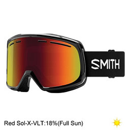 Smith Range Goggles 2018, Black-Red Sol X Mirror, 256