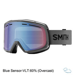 Smith Range Goggles 2018, Charcoal-Blue Sensor Mirror, 256