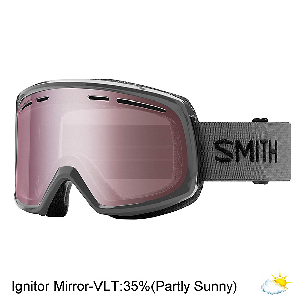 Smith Range Goggles 2018, Charcoal-Ignitor Mirror, 600