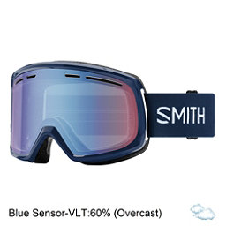 Smith Range Goggles 2018, Navy-Blue Sensor Mirror, 256