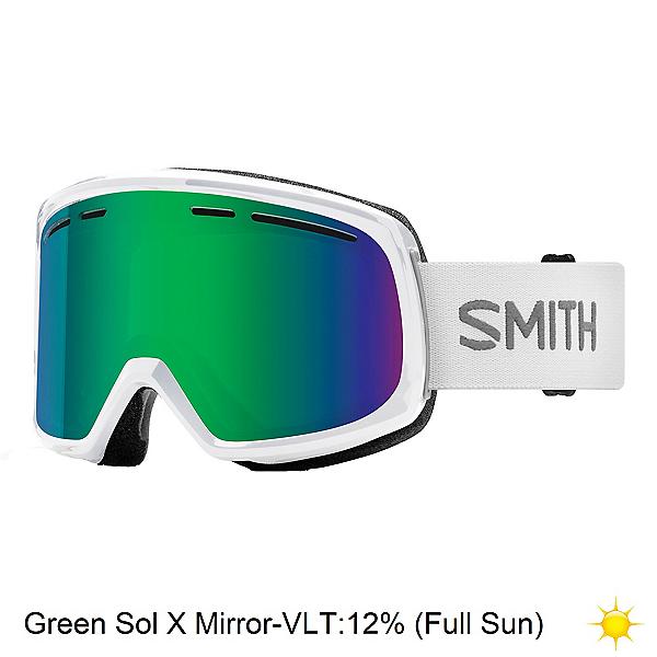 Smith Range Goggles 2020, White-Green Sol X Mirror, 600