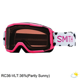 Smith Daredevil Girls Goggles 2018, Pink Jam-Rc36, 256