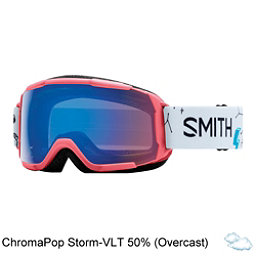 Smith Grom Jr. Girls Goggles 2018, Sunburst Doodles-Chromapop Sto, 256