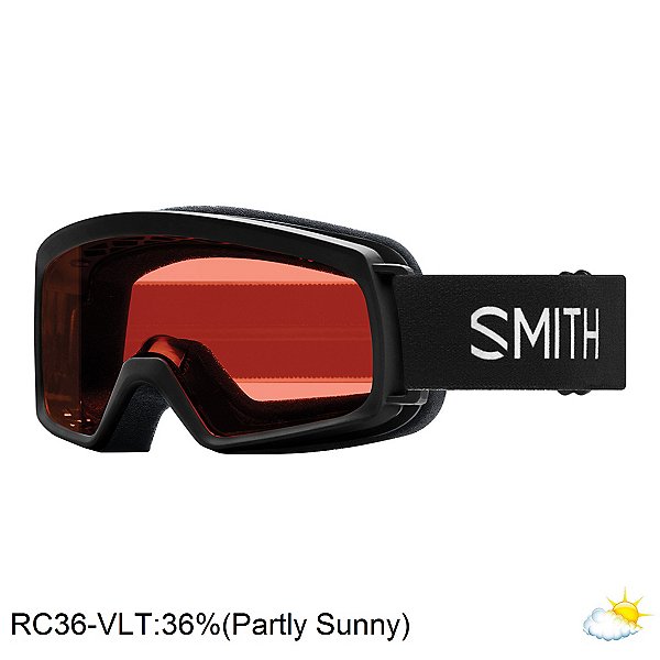 Smith Rascal Jr. Kids Goggles 2020, Black-Rc36, 600
